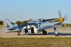 Airshow London - 2017  North American P-51D Mustang 'Bald Eagle'