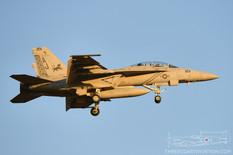NAS Oceana - Apr 26, 2016  Boeing F/A-18F Super Hornet  VFA-213 Black Lions - United States Navy