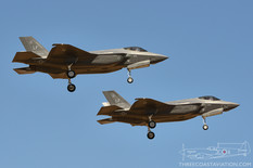 Luke AFB - Apr 5, 2017  Lockheed Martin F-35A Lightning II  63rd Fighter Squadron 'Panthers' - United States Air Force