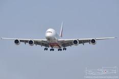 CYYZ - Aug 31, 2012  Airbus A380  Emirates
