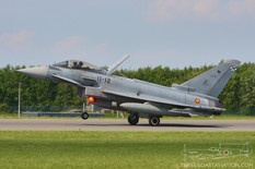 Tactical Weapons Meet - 2017  Eurofighter EF2000 Typhoon  Ala 11 - Spanish Air Force