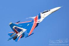 MAKS - 2019  Sukhoi Su-30SM Flanker-H  Russian Knights