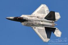 Airshow London - 2020  Lockheed Martin F-22 Raptor  F-22 Demonstration Team - United States Air Force