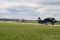 Thunder Over Michigan - 2013  Douglas Skyraiders