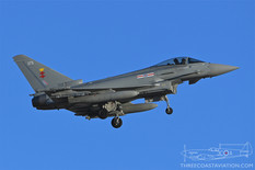 Red Flag 20-1  Eurofighter EF-2000 Typhoon FGR4   41 Squadron - Royal Air Force