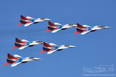 MAKS - 2019  Mikoyan-Gurevich MiG-29 Fulcrum  Russian Swifts