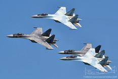 MAKS - 2019  Sukhoi Su-35 Flanker-E  Falcons of Russia
