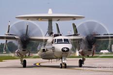 Thunder Over Michigan - 2018  Northrop Grumman E-2C Hawkeye  United States Navy