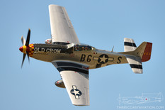 Thunder Over Michigan - 2012  North American P-51D Mustang 'Old Crow'