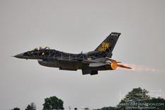 EAA AirVenture Oshkosh - 2021  Lockheed Martin F-16CM Viper 'Venom'  F-16 Viper Demo Team - United States Air Force