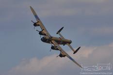 Gathering of Mustangs & Legends - 2007  Avro Lancaster Mk.X 'Mynarski Memorial'  Canadian Warplane Heritage Museum