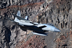 Star Wars Canyon - Jan 24, 2019  McDonnell Douglas F-15C Eagle  194th FS Griffins - United States Air National Guard