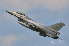 Tactical Weapons Meet - 2017  General Dynamics F-16A Fighting Falcon  1st Squadron 'Stingers' - Belgian Air Force