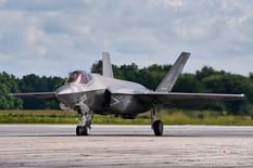 Airshow London - 2018  Lockheed Martin F-35C Lightning II  VFA-101 Grim Reapers - United States Navy