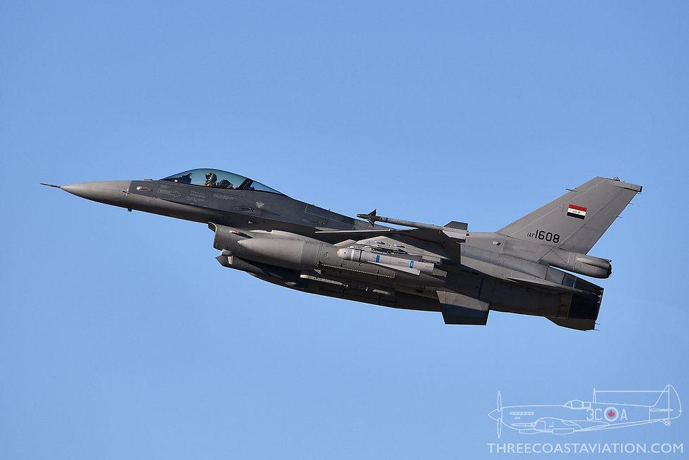 Tucson Air National Guard Base - Iraqi Air Force F-16C