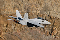 Star Wars Canyon - Dec 4, 2018  Boeing F/A-18F Super Hornet  VFA-2 Bounty Hunters - United States Navy