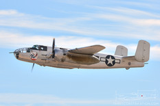 Aviation Nation - 2016  North American B-25J Mitchell 'Photo Fanny'  Planes of Fame Air Museum