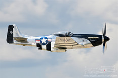 Thunder Over Michigan - 2019  North American P-51D Mustang 'Quick Silver'