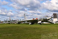 Central Air Force Museum  Myasishchev M-4 Bison  Tupolev Tu-95N Bear