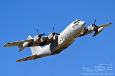 Centennial of Naval Aviation - Naval Air Station North Island  Lockheed C-130H Hercules  VX-30 Bloodhounds - United States Navy