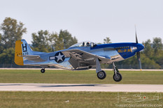 Gathering of Mustangs & Legends - 2007  North American P-51D Mustang 'Hell-er Bust'