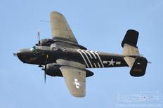 TICO Warbird Airshow - 2012  North American B-25H Mitchell 'Barbie III'  Cavanaugh Flight Museum