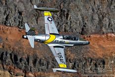 Star Wars Canyon - Jan 24, 2019  Lockheed T-33 Shooting Star 'Ace Maker II'
