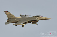 Red Flag 18-1  General Dynamics F-16C Fighting Falcon  421st Fighter Squadron - United States Air Force