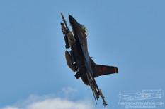 Nellis AFB - Jun 2, 2021  General Dynamics F-16C Fighting Falcon 'Wraith'  64th Aggressor Squadron - United States Air Force