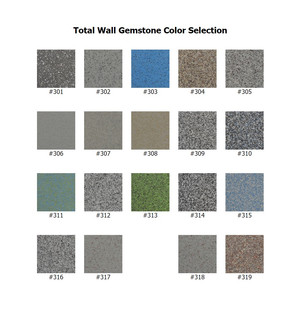 Total Wall Gemstone Color Selection