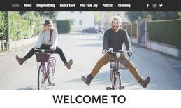 Suburban Simplified I worked with Steve to redesign his website, compl...