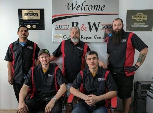 B&W Auto Body Team