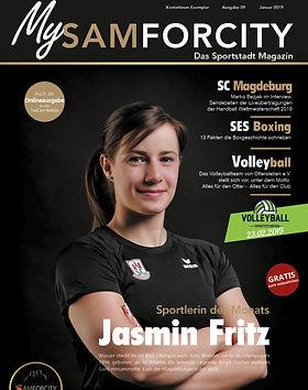 Titelseite Jasmin Fritz-MySamforcity-Jan