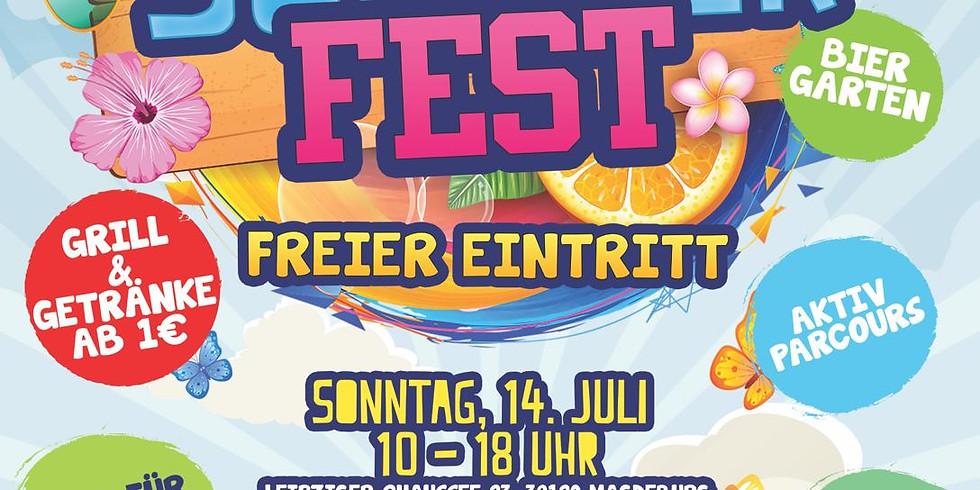 Das erste Lasertag Sommerfest.
