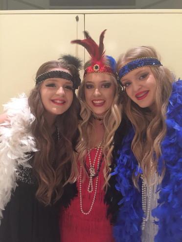 1920s Flapper Girls