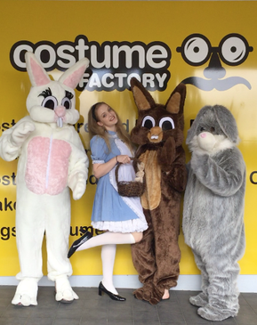 Easter Bunnies (Nunawading) + Alice in Wonderland