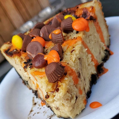 Reeses Pieces Cheesecake