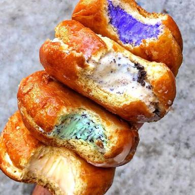 Halo Donut Ice Cream Sandwich