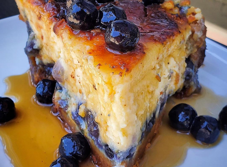 Brown Sugar Boba Cheesecake