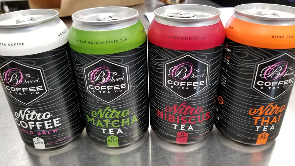 B Sweet Nitro Cold Brew Cans