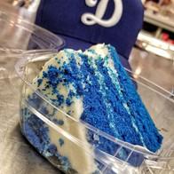 Dodger Blue Velvet