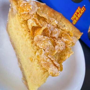 Frosted Flakes Chess Pie