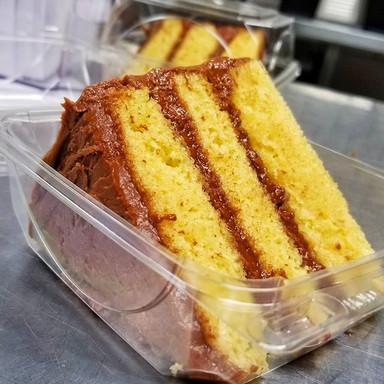 Chocolate Yellow Cake