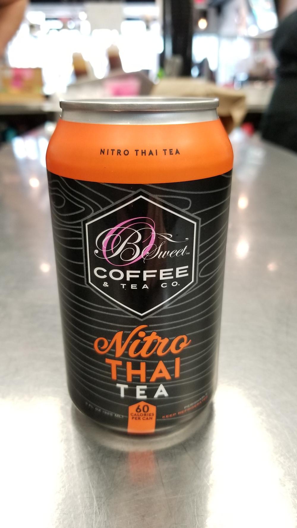 B Sweet Nitro Thai Tea Can