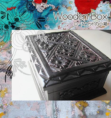 インドネシアのローズウッドの箱 S
