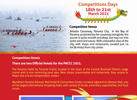 Pan American Dragon Boat Federation (PADBF) hosts the Pan American Club Crew Championships (PACCC)
