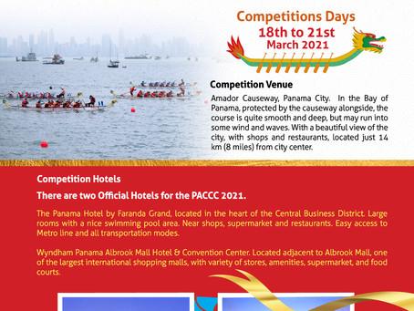 Pan American Dragon Boat Federation (PADBF) hosts the Pan American Club Crew Championships (PACCC)