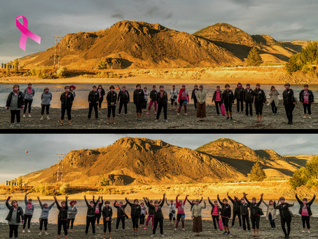 Spirit Warriors celebrate October Breast Cancer Month
