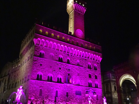 The world turns pink for breast cancer awareness month