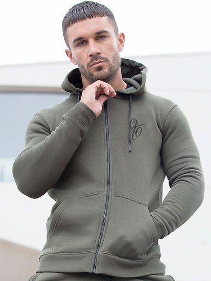 ETO | Mens Designer Khaki Athletic Hoodie Confirm